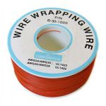 30KY1000-7 30 AWG Brown Kynar Wire-1000FT