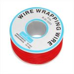 30KY1000-3 30AWG Red Kynar Wire-1000ft