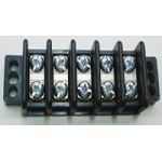 "13-1505 30 AMP Dual  Row Terminal Blocks (.437""c.s.) - 5 Poles"