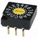 BCS-130 Real Binary Coded Hex Rotary Switch