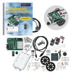 28132 Parallax Boe-Bot Robot Kit - Serial (with USB adapter and cable)