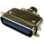 57-30500 Male Centronic Connector with Metal Shell - 50 Contacts