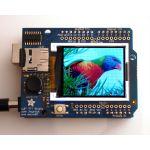 "802 Adafruit 1.8"" 18-bit Color TFT Shield w/microSD and Joystick"
