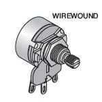 P5W-100 Potentiometer 100 Ohm 5W