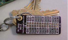 PI-GPIO Reference Card for Raspberry Pi