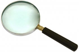 "PH0510B 2"" Magnifying Glass with Handle, 5.75"" Focal Length"