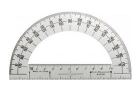 7-1317 Student Clear Protractor