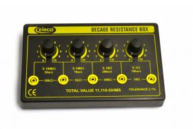 PH1133A4 Decade Resistance Box, Variable from 0-11,110 Ohms