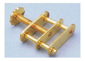 7-G82 Brass Screw Form Hoffman Clamp 19mm O.D.