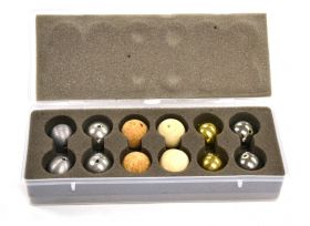 PH0109CB Drilled Ball Set in Plastic Case
