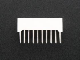 1816-ADA 10 Segment Light Bar LED Display - White