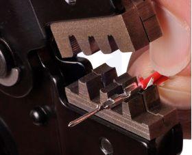1928-POLOLU Crimping Tool: 0.1-1.0 mm² Capacity, 16-28 AWG