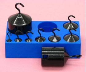 P-126-100 Hooked Weight Set of 9
