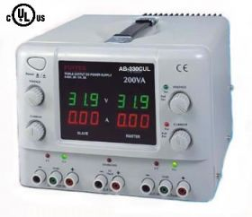 AB-330CUL DC Power Supply 30V/3A+30V/3A+5V/3A Triple output