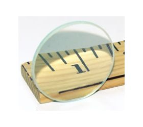 7-909-6 Double Convex Lense 75mm d. x 17.5cm. F.L.