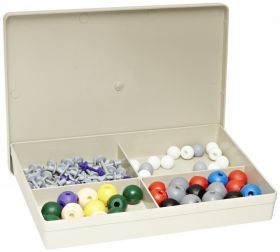 SET00604 86 Piece Organic and Inorganic Chemistry Molecular Model Set with Case