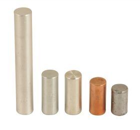 PH0112FCB Equal Mass Cylinder Set.- Aluminum, Copper, Tin, Zinc, Lead - 5 cylinders