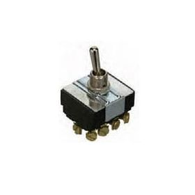 35-143 Heavy Duty Toggle Switch ON OFF ON 4PDT
