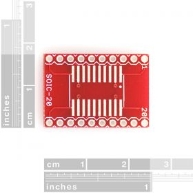BOB-00495 SOIC to Dip Adapter 20-Pins