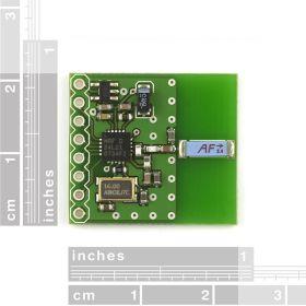 WRL-00691 Transceiver nRF24L01+ Module with Chip Antenna