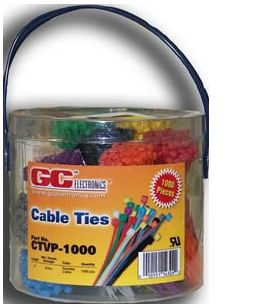 CTVP-1000 Cable Tie Kit-4 inch