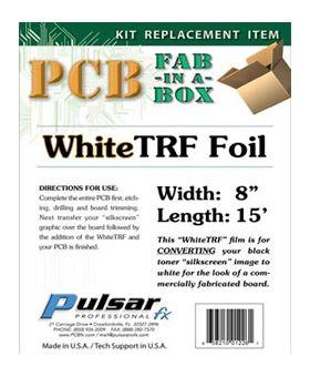 TRF-WHITE Toner Reactive Foil - White