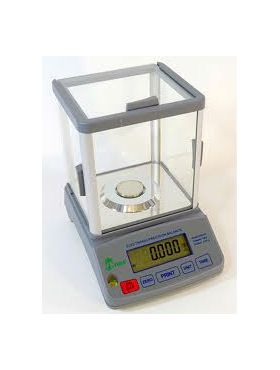 HRB203 High Resolution Balance with Glass Draft Shield Scale 200 Grams