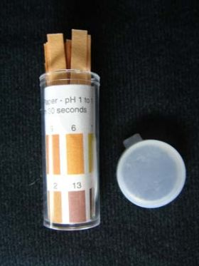 7-3000-30 Wide Range pH, Range 1-14, 100/vial
