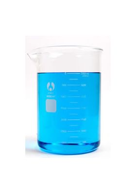7-441000 Low Form Bomex Glass Griffin Beaker - 1000 mL