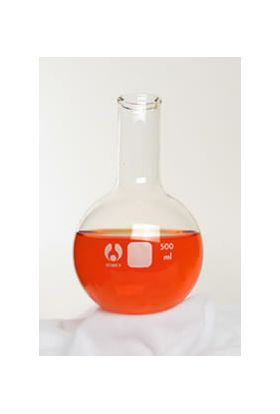 7-660250 Bomex Boiling Round Bottom Flask with #6 Stopper 250mL