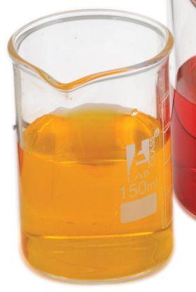 BK0105 Low Form Beaker, Borosilicate Glass, 100mL, Pk/12