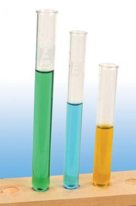 TT0102100 Light Rim Test Tubes, Borosilicate Glass, 10x75mm (Pack of 100)