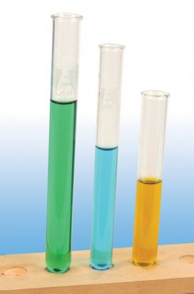 TT0104 Light Rim Test Tubes, Borosilicate Glass, 12x75mm (Pack of 48)