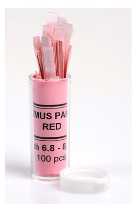 7-3000-16 pH Test Paper Red Litmus