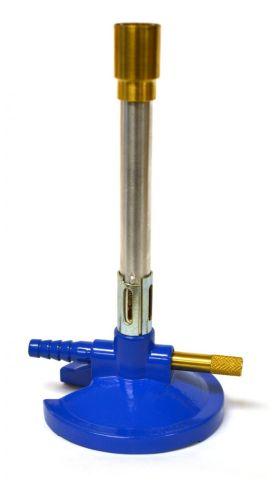 CH0094LP Premium Bunsen Burner w/ Flame Stabilizer & Gas Adjustment - Liquid Propane (LP)